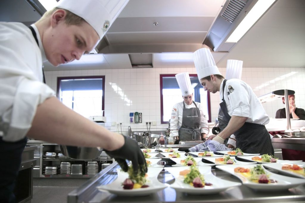 Edible Buffet – Young chefs