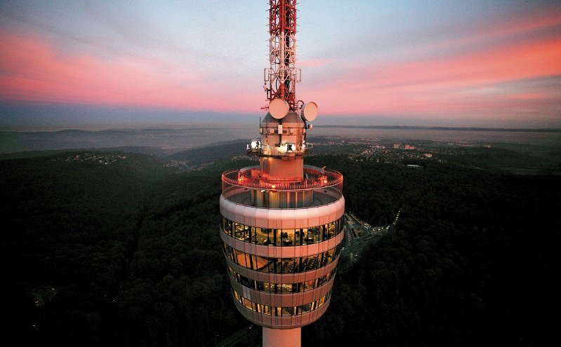 Der Stuttgarter Fernsehturm. Foto: Stuttgart Marketing Gmbh/Achim Mende