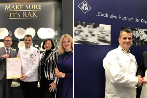 Exclusive Partners: RAK and MKN support IKA/Culinary Olympics