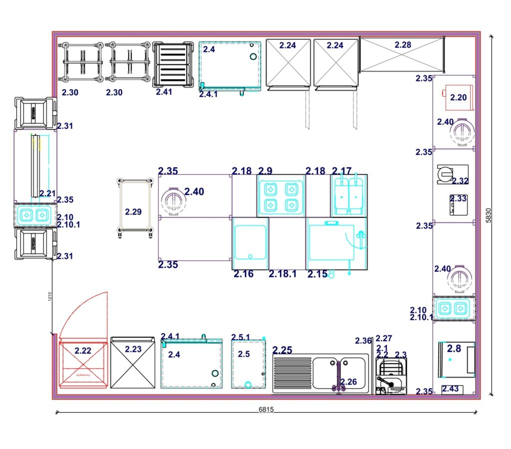 The Kitchen Plans are Published