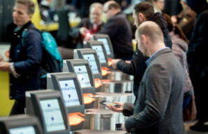 A logistically demanding point is admission control, as there are different tickets for INTERGASTRA, GELATISSIMO and the IKA/Culinary Olympics. A specially programmed admission system ensures that visitors get to the right event. Photo source: Messe Stuttgart