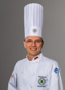Richard Beck, President of the German Chefs' association, the VKD. Photo: VKD/Miriam Wrobel