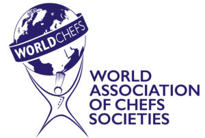 Worldchefs Logo Blue With Text