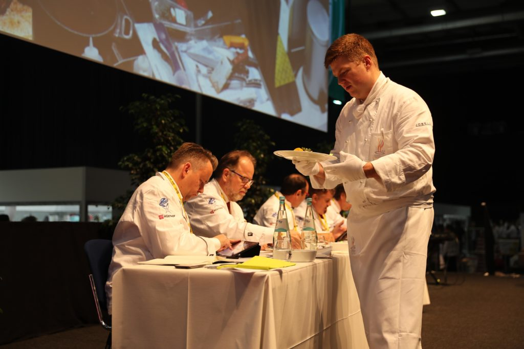The taste is an important factor. Photo: IKA/Culinary Olympics