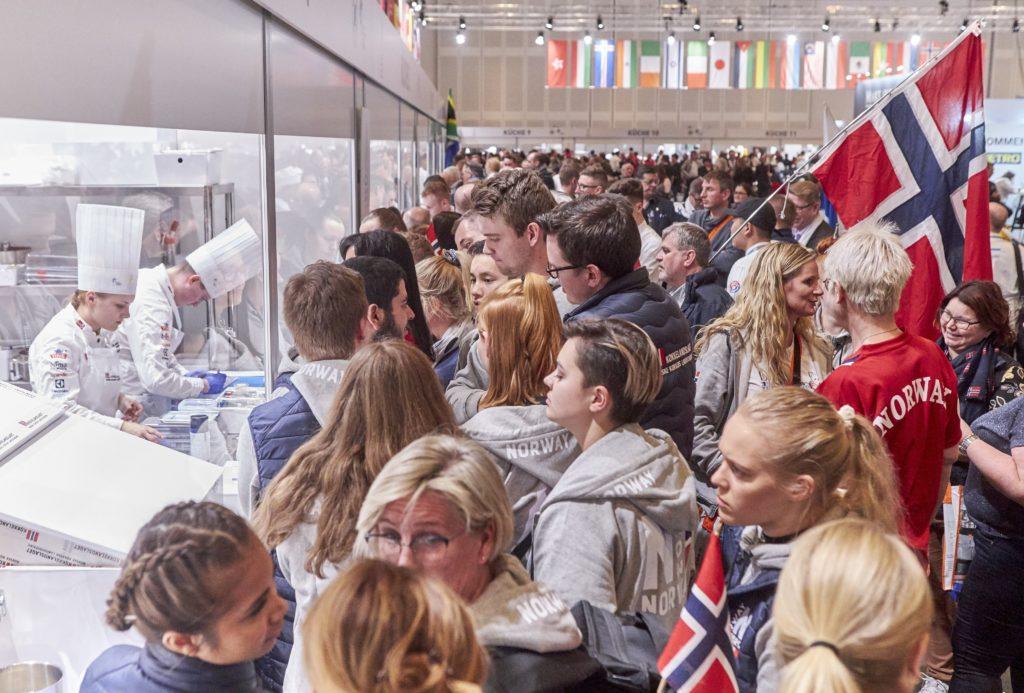 Fans. Photo: IKA/Culinary Olympics