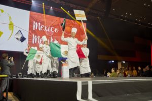 The Mexican team was celebrated by the audience. Photo: IKA/Culinary Olympics