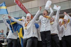 Sweden became olympic champion in the category Junior National Teams. Photo: IKA/Culinary Olympics