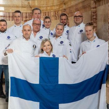 Team-Vertreter aus 15 Nationen waren angereist, um direkt vor Ort Antwort auf die Frage zu bekommen: An welchem Tag kocht mein Team? Foto: Messe Stuttgart