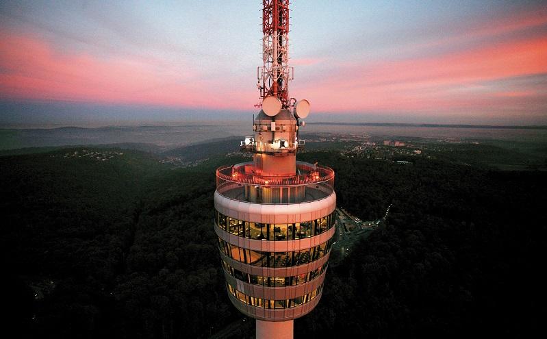 Fernsehturm Stuttgart. Foto: Stuttgart Marketing/Gmbh Achim Mende
