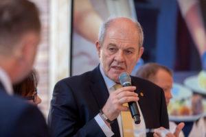 Für Ulrich Kromer von Baerle (Geschäftsführer Messe Stuttgart) steht die Internationalität im Fokus und die IKA/Olympiade der Köche profitiert vom Fundament der INTERGASTRA. Foto: Messe Stuttgart