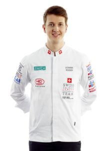 Dominik Roider, Junior Team Switzerland. Photo: Junior Team Switzerland
