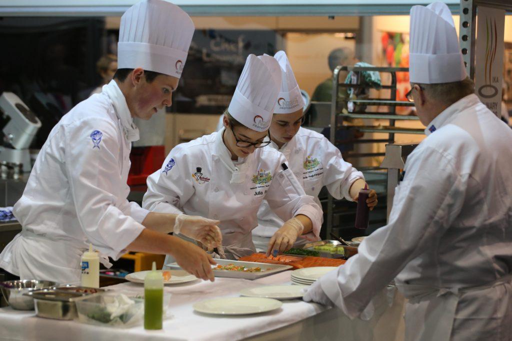 Kulinarisches Kräftemessen für die Nationalteams