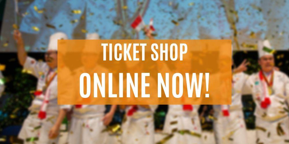 Der Ticket Shop ist online!