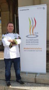 """Gergő Balázs, Teamcaptain vom Hungarian Military Culinary Team, freut sich auf seine vierte IKA-Teilnahme: """"Unser Traum ist es, die Goldmedaille zu gewinnen."""""""
