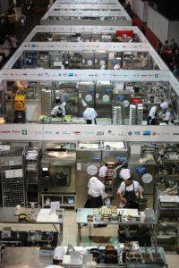 Der Auf- und Abbau der Wettbewerbsküchen für die IKA/Olympiade der Köche muss akkurat geplant werden. Vorgesehen sind 22 vollausgestatte Profi-Küchen, die innerhalb von vier Tagen aufgebaut werden – eine exakte Planung ist hier unabdingbar. Bildquelle: IKA/Olympiade der Köche 2016 | Foto: IKA/Culinary Olympics