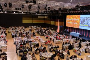 Das Restaurant of Nations bot Platz für 888 Personen. Foto: IKA/Culinary Olympics