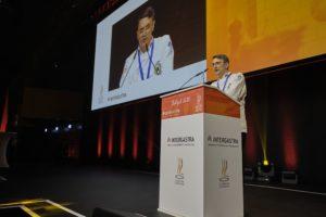 Richard Beck, Präsident des Verbands der Köche Deutschlands e.V. (VKD), dem Veranstalter der IKA/Olympiade der Köche.