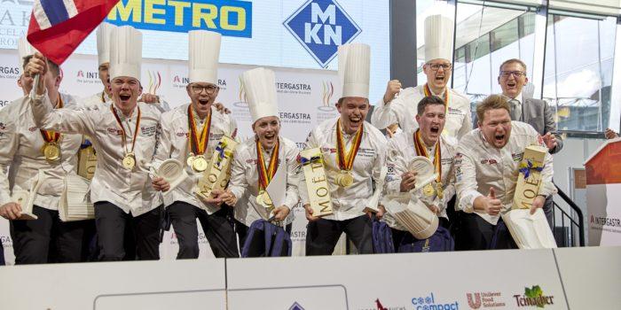 Norwegen gewinnt die 25. IKA/Olympiade der Köche in Stuttgart